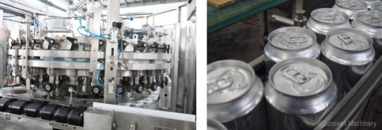 9,000 CPH Canning line