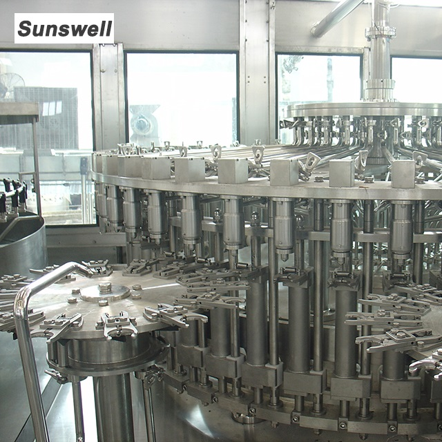 Automatic 3 In 1 Juice Filling Machine Production Line