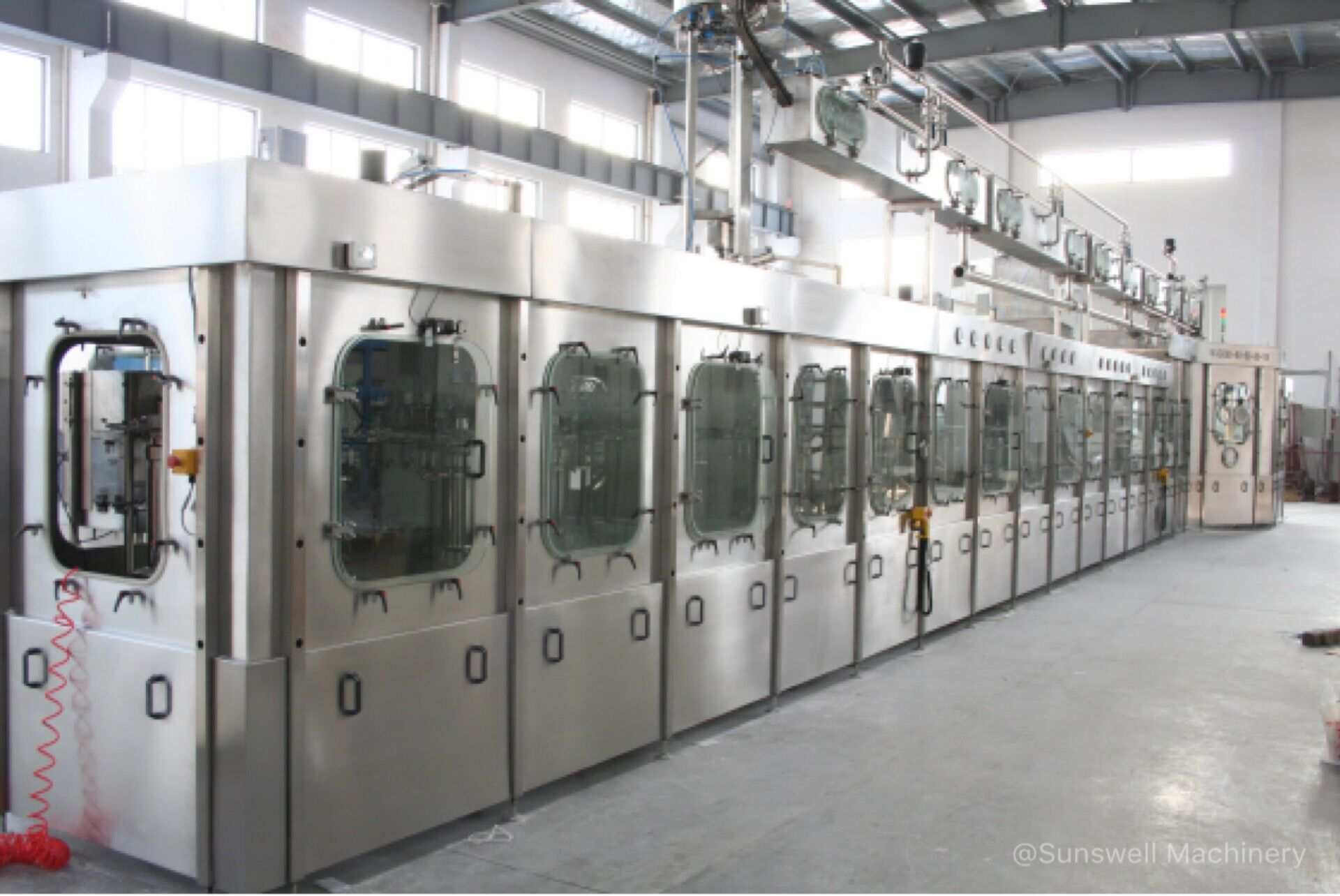 Aseptic filling equipment