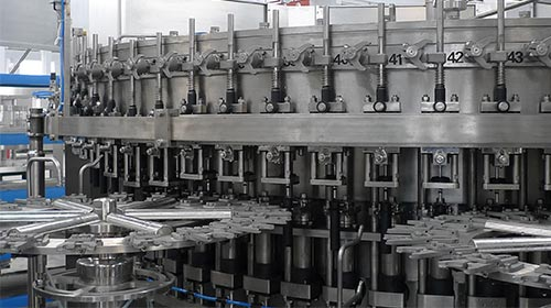 6,000 BPH Carbonated Filling Line to Columbia