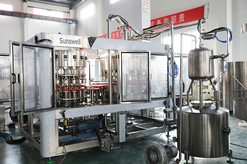 dairy filling machine