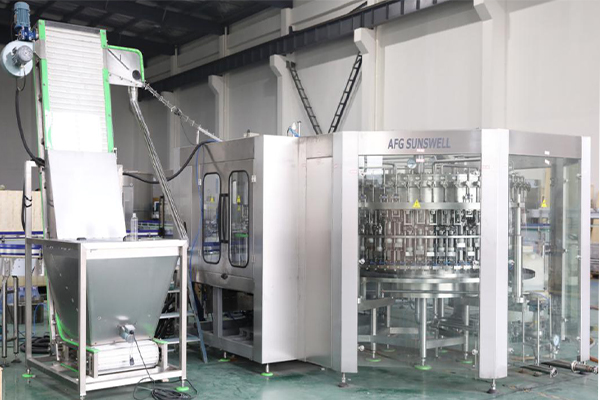 Three Parts of Carbonated Beverage Equipment