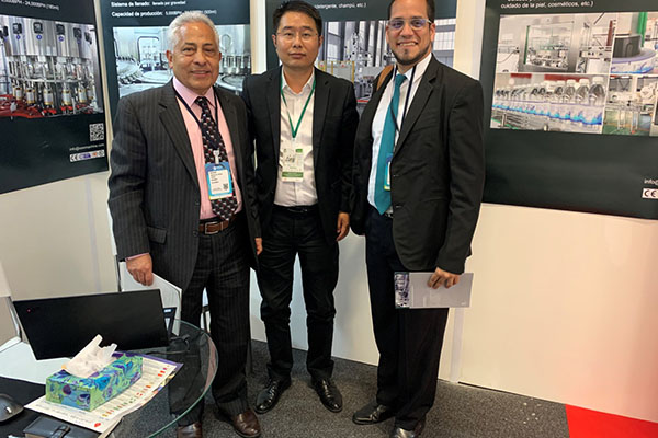 How Is The Andina Pack Exhibition In Colombia In 2019?